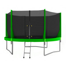 Батут Optifit Jump 8 FT зеленый